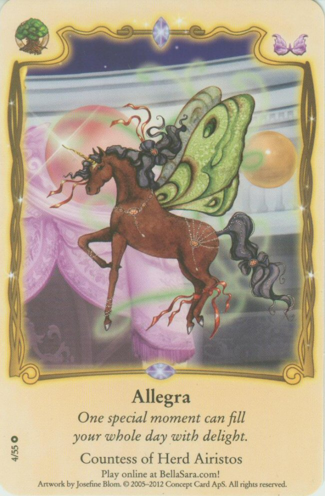 Bella Sara trading card Colour 36//55 Herds From North of North